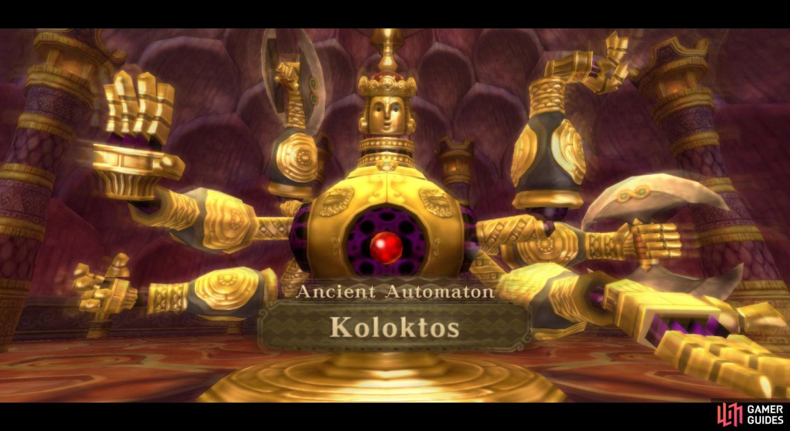 Koloktos has 6 arms–and isn't afraid to use 'em!