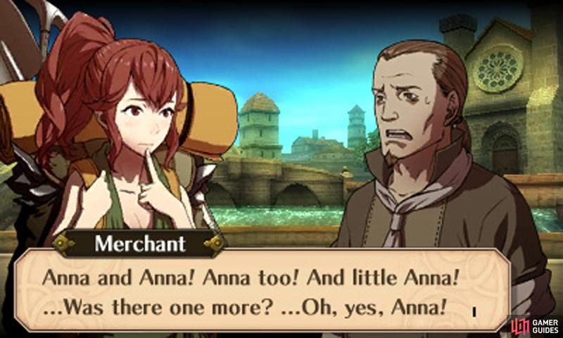 For the best result, you must save each and every Anna.