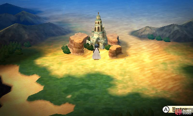 Originally Agnes's home, the Temple of Wind has since become overrun with fearsome creatures…