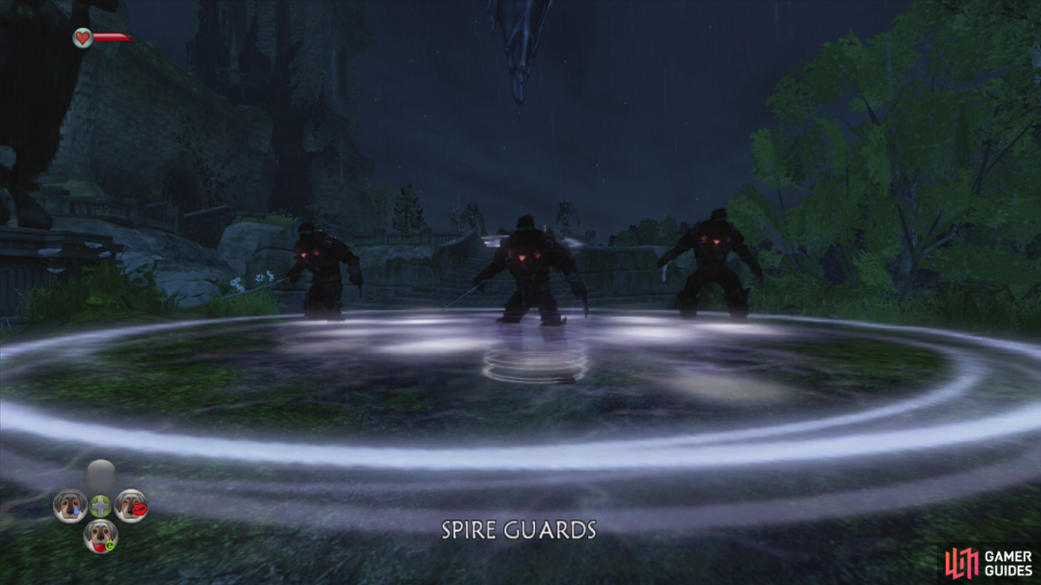 Meet the Spire guards… And then kill them!