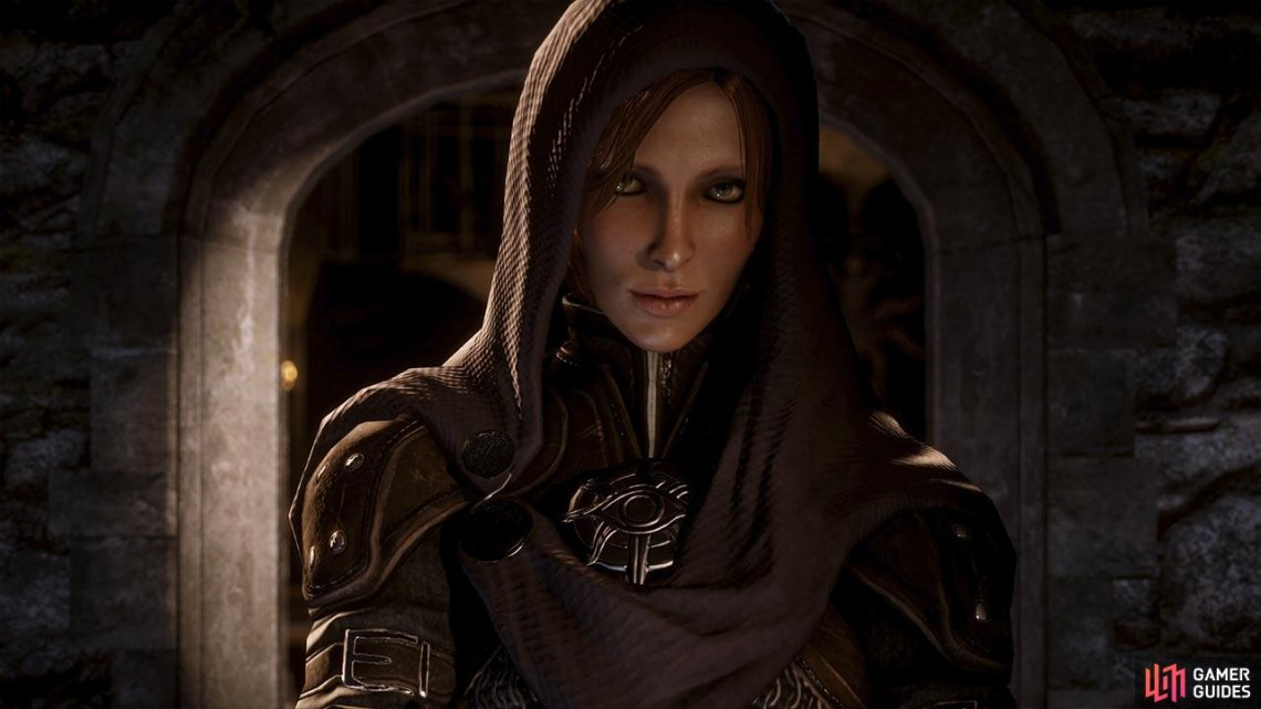 Trained as an assassin and feared throughout the land, Leliana is a powerful ally and agent of the Inquisition.