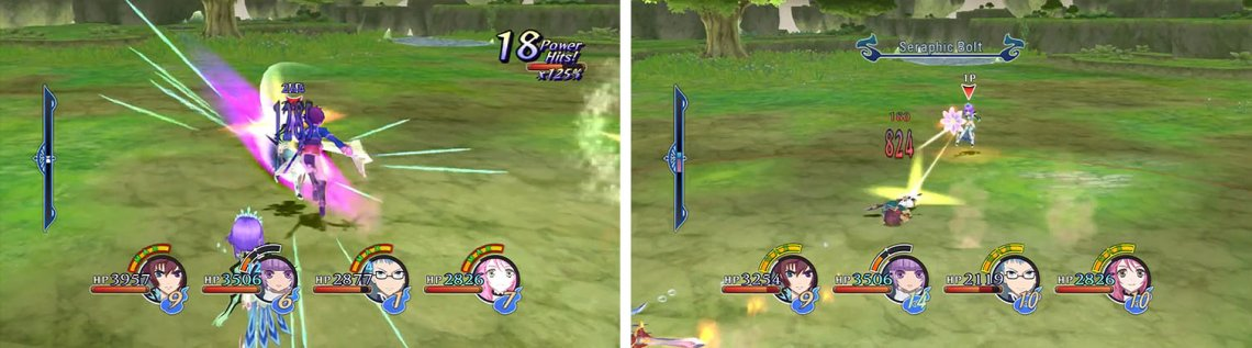 Focus your attacks on the magic versions of the Little Queen first (left) and then deal with the ranged versions (left) to avoid being sniped when dealing with the melee versions.