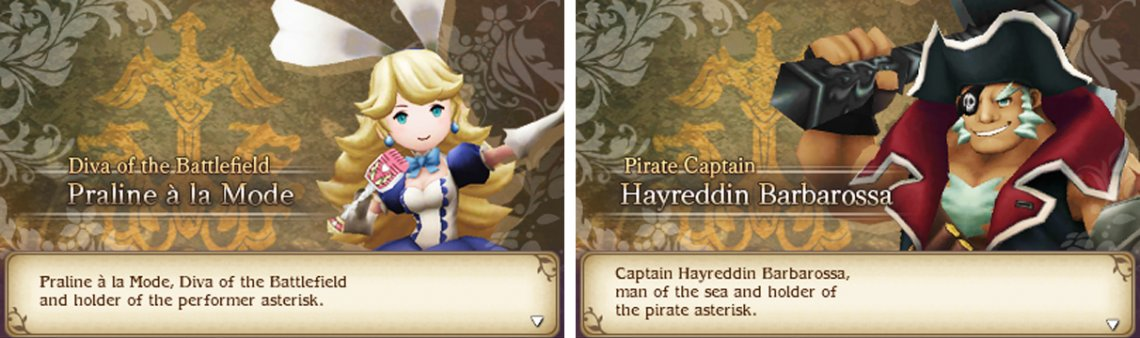 J-pop superstar and pirate captain–only Bravely could fit both in one game.