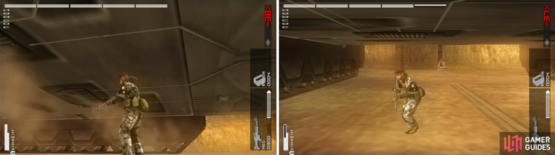 The radiators have steam coming out of them (left picture). There's a machine gun shooting at everything that moves underneath Cocoon. Be careful.