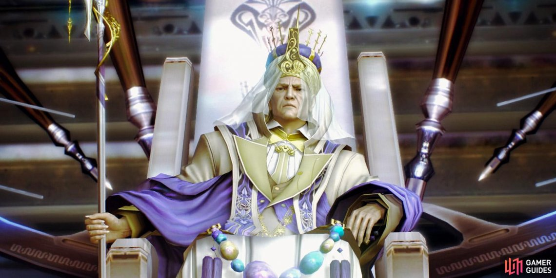 Primarch Dysley is the main antagonist of Final Fantasy XIII.