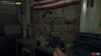 the Lighter is sitting in front of the map of Hope County at the bottom of the bunker.