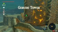 The Gerudo Tower probably has the most unusual means of access