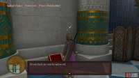 You can find an Iron Broadsword in the Prince's Bedchamber