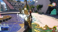 then strike the contraptions of the fountain to find a Heart Fragment