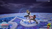 and her Keyblade Combos are longer and quicker