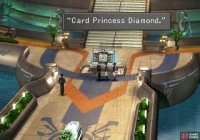 You'll find the Princess Pair, the Diamond Duo, in the lobby