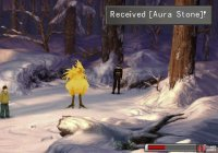 and the chocobo will give you an Aura Stone.