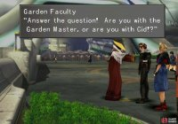 Talk to a Garden Faculty member, who will demand to know where you loyalties lie