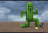 Jumbo Cactuar's most common attacks include a stomp
