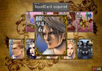 and take his Squall Card