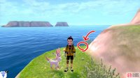 4/7: From Diglett 3, head back towards the shore, but turn right while facing the ocean/mainland. Head into the narrow path, where the Pokémon Den is. The final Diglett on this island is at the end of this path, near the gold item ball.