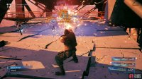 "Use Barret's ""Maximum Fury"" attack to damage Blast-Rays while staggered,"