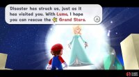 Rosalina hopes with Luma's help you'll be able to rescue the Grand Stars.