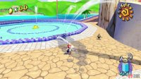 Shadow Mario will take you all around the map