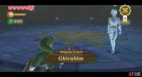 Ghirahim starts by menacingly walking forward.
