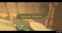 The Ancient Cistern is a water dungeon, but it's not as mind-boggling as previous ones.