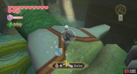 When you've got some free time, use a spin attack to collect the Silver Rupees in the first area without being grabbed.