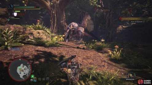 When enraged - which is frequent - the Anjanath will more frequently use its more damaging attacks