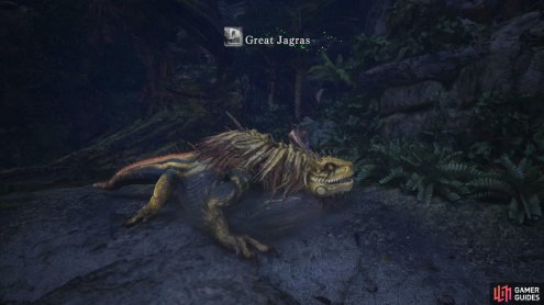which ultimately lead him to a greater threat - the Great Jagras