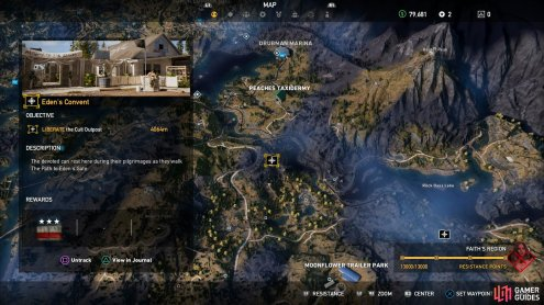 Eden S Convent Far Cry 5 Gamer Guides