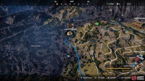 F A N G Center Far Cry 5 Gamer Guides