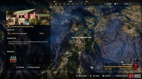 Top Ten Floo Y Wong Artist Far Cry 5 Henbane River Outposts Map