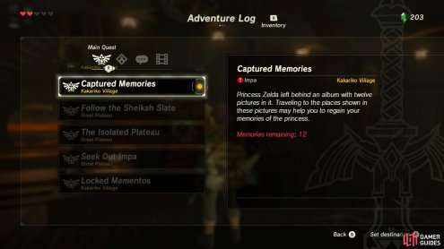 It is grouped with the main quests but it is optional