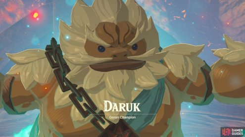 Even after all these years, Daruk still views you as his little brother