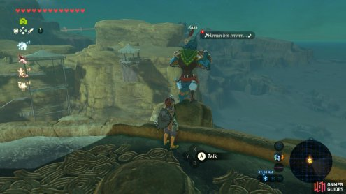 Kass can be found all over Hyrule with various songs