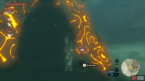 "You need to complete ""Cliffside Etchings"" to reveal this Shrine"