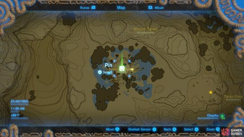 Here is the location of the Oldest Kin.