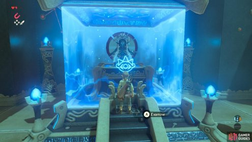 this chamber will always mark the end of a Shrine's trial.