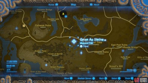 Here is the specific location of the Oman Au Shrine