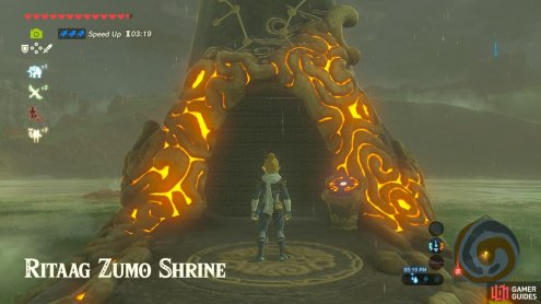 "This is a Blessing Shrine unlocked by completing the Shrine Quest ""Into the Vortex""."