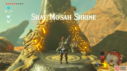 This Shrine serves as a fast travel point for Goron City