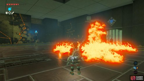There's a lot of ways you can set these vines on fire or hold the switch without using fire at all