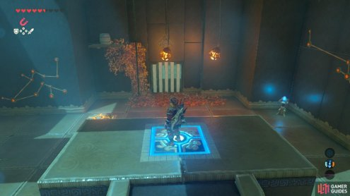 This is basically the same puzzle as the entrance of this Shrine