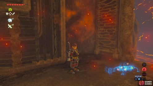 This ledge will be your safety net as you tip Vah Rudania