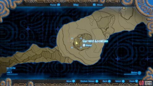 Save around the time you enter this region of the valley