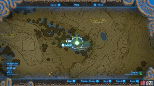 Here is the location of the Youngest Kin