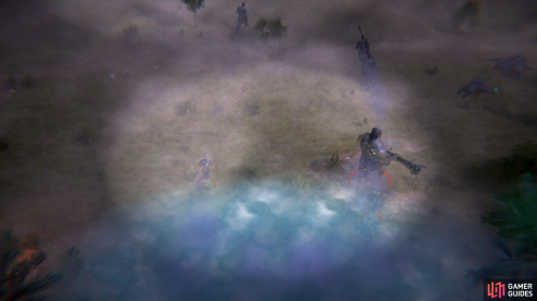 After you find your ally you'll be attacked by more barbarians - and giants - emerging from the mist