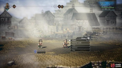 Olberic's Challenge is very similar to H'aanit's Provoke
