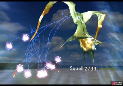 Summon Quezacotl regularly to boost its compatibility with Squall