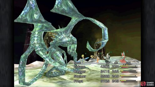 The regular enemies in Crystal World are the bosses from Memoria