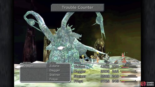 Kraken will have a new move called Trouble Counter
